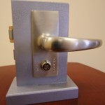 Swinging End Door Lock 3 (Outside View)